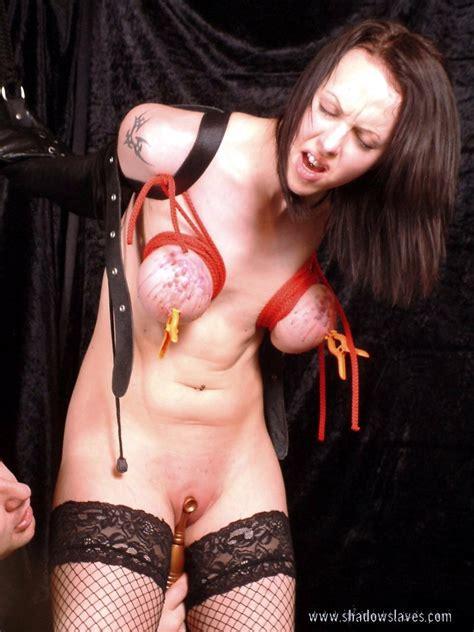 Extreme Nipple Bdsm And Armbinder Bondage Of Kinky British