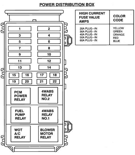 find  fuse schematic    explorer