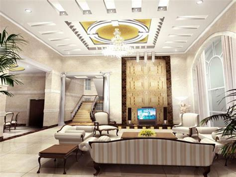 home design gold yellow gold paint color living room modern house