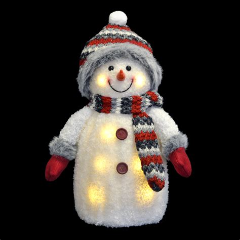 light up snowman 13 quot led light up snowman room ornament with