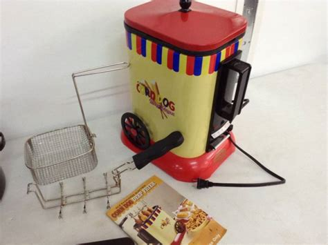 corn fryer dog deep electric lot catalog