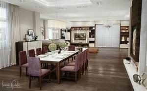 appartement luxe ultra moderne a kiev en ukraine With salle a manger luxueuse