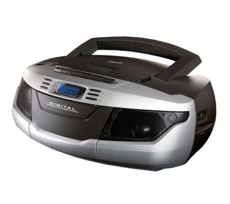 Cd Cassette Recorder by Supersonic Sc 184ub Portable Mp3 Cd Player Cassette