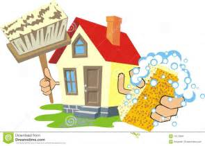 Clean House Cleaning Clip Art