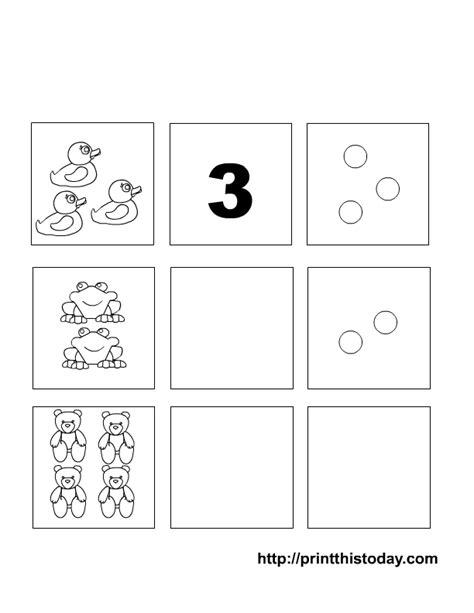 writing  counting numbers   preschool maths worksheets