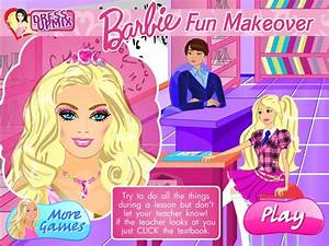 Barbie Fun Makeover Game - Games For Girls Box
