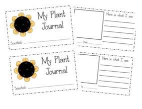 Printable Plant Observation Journal