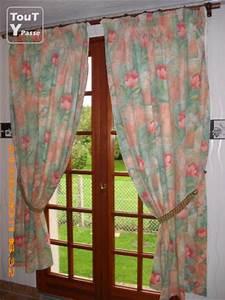 Embrases Double Rideaux : double rideaux ton orange et vert maul vrier sainte gertrude 76490 ~ Farleysfitness.com Idées de Décoration