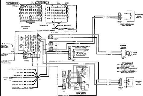 1990 chevy truck light wiring diagram 42 wiring