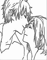 Coloring Anime Boy Boys Awesome Couple Drawing Kissing Chibi Printable Getcolorings Cool Manga Unbelievable Mermaid Popular sketch template
