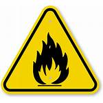 Hazard Warning Fire Sign Symbol Danger Iso