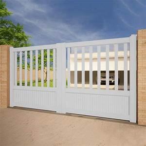 Portail Alu Coulissant 3m : 40 best portails aluminium coulissant images on pinterest ~ Edinachiropracticcenter.com Idées de Décoration