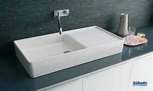 Evier Cuisine Ceramique : evier cuisine ceramique a poser ~ Premium-room.com Idées de Décoration