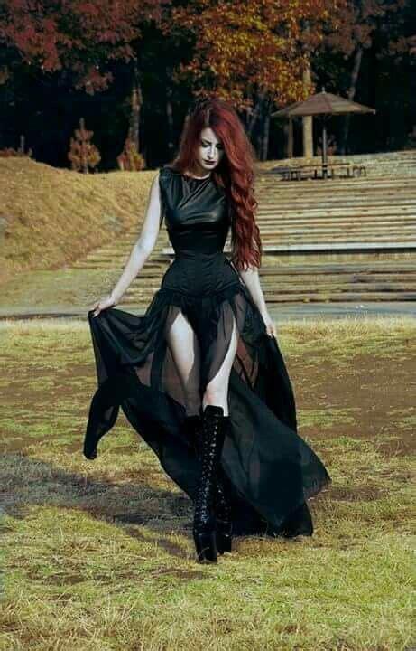 Pin De Art En Black Vestido Gótico Moda Gótica Y Ropa