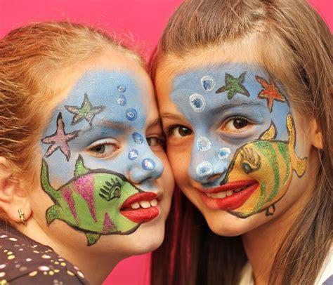 kinderschminken vorlagen bild 15 kinderschminken vorlage fische