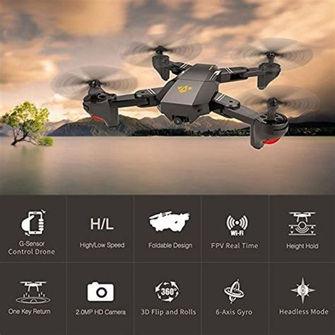 drone visuo xshw cd technologia