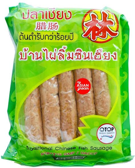 Banphai Limcinheang Traditional Chinese Fish Sausage 500g - My Asian Grocer
