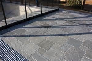 kandla grey indian sandstone paving patio