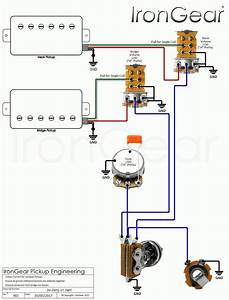Guitar Wiring 2 Tone 1 Volume