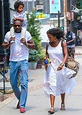 Idris Elba and his son Winston were spotted out with a ...