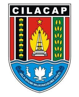 logovectorcdr logo kabupaten cilacap