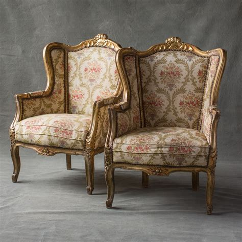 pair of gilt bergere chairs 2 171 the hudson