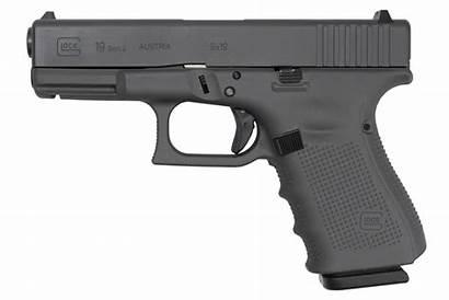 Sniper Glock Gray 9mm Gen4 Pistol Round