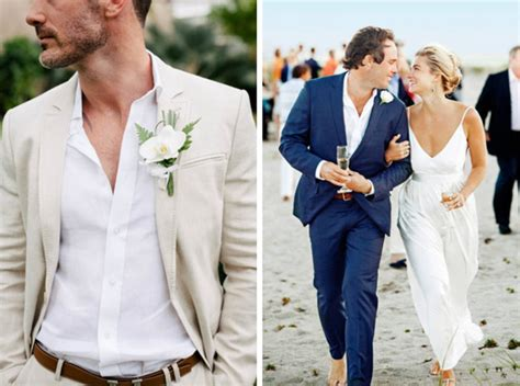 20 Beach Wedding Looks For Grooms And Groomsmen Southbound