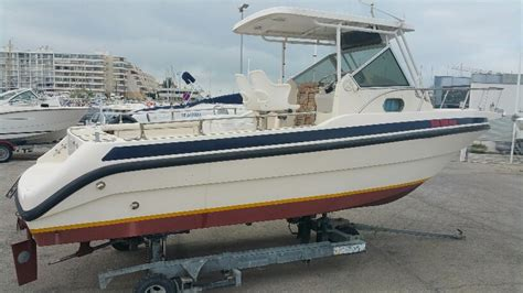 cabin fish carnon plaisance 700 cabin fish annonces occasion