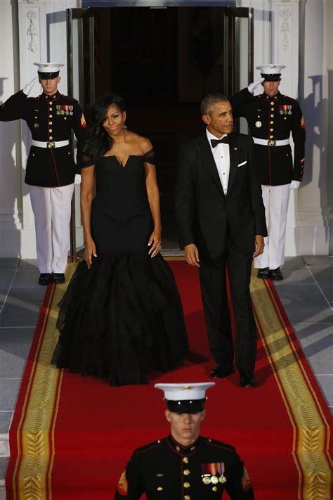 michelle obama slays  vera wang  white house state