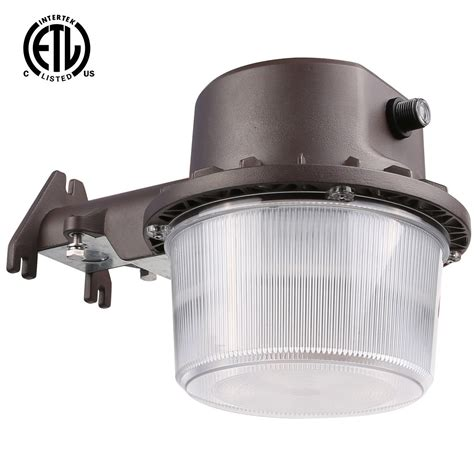 Led Security Light Dusk To by Security Outdoor Barn Yard 35w Led Light Dusk To