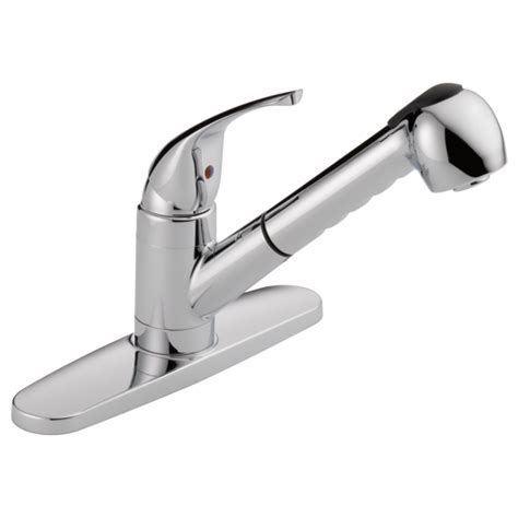 WAS15X   Single Handle Pull Out Kitchen Faucet
