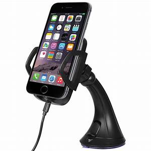 Iphone Wireless Charger : qi wireless charging car mount for apple iphone 7 6s 5s ~ Jslefanu.com Haus und Dekorationen