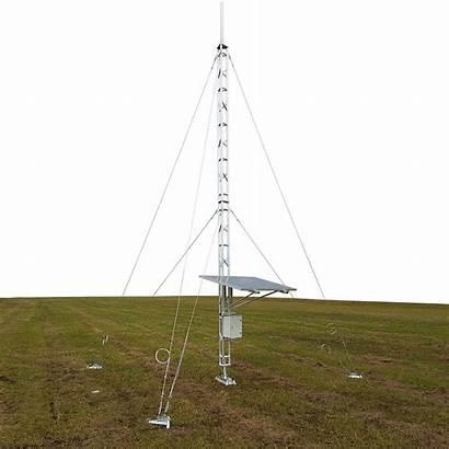 Tower Guyed Lattice Aluminium Ground Towers Mast
