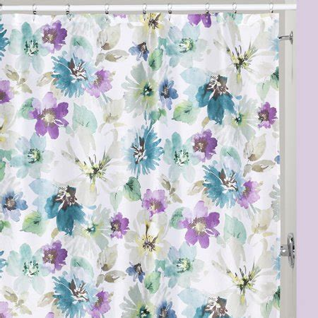 Creative Bath Shower Curtains by Creative Bath Bouquet Polyester Shower Curtain Walmart