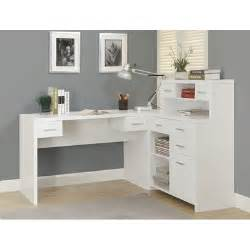 Wayfair White Computer Desk by Monarch Specialties Inc Clarendon Corner Desk With Hutch