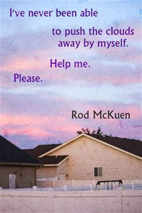 Pin by Georgine Patterson on Rod McKuen | Who you love ...