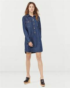 DAMES DENIM SHIRT JURK | 78823198 - WE Fashion