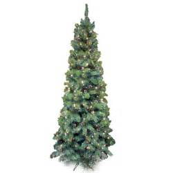 prelit artificial christmas tree lakeland fir slim pre lit artificial christmas tree