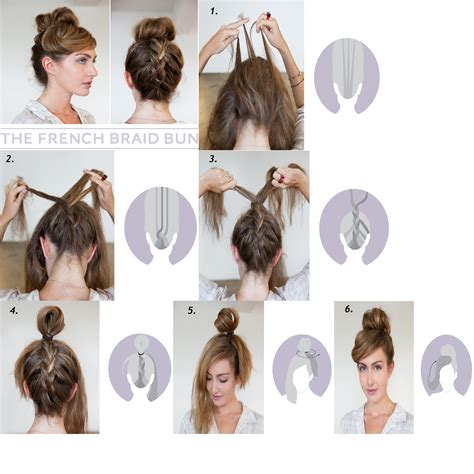 awesome    hairstyles braided bun guff