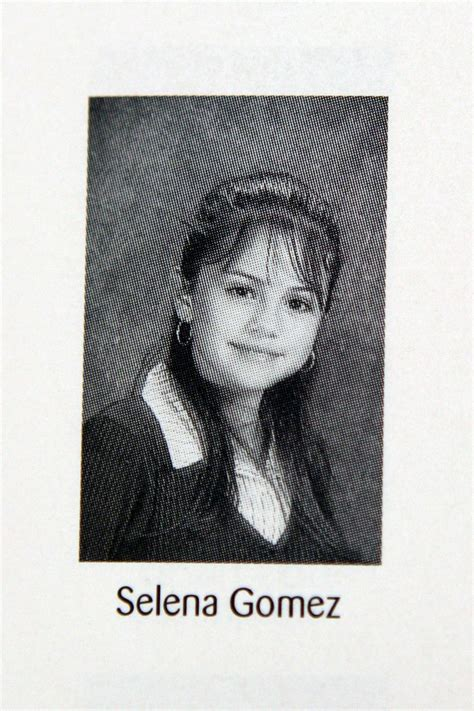 These Celebs Have the Cutest Yearbook Photos | Selena ...