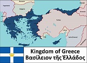 The Kingdom of Greece in 1931 : imaginarymaps