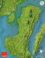 Satellite Map of Negros Occidental