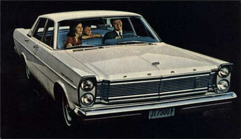 The 1965 66 Ford Galaxie 500: Proof that Size Matters