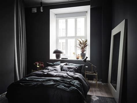 Black Bedroom Wall by Exposed Brick And Black Bedroom Walls Coco Lapine