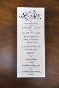 Sample wedding programs karen kenneth wedding programs for Sample of wedding programme