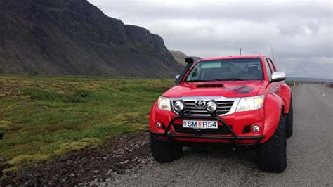 North Pole Toyota Hilux Driven