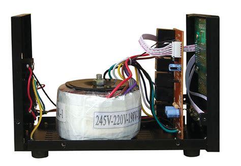 voltage stabilizer working   importance
