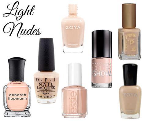 Best Nude Nail Polish For Light, Medium & Dark Skin Tones