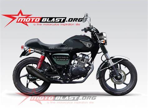 Modif Retro by Modif Honda Verza 150 Retro Style Terbaru Motoblast